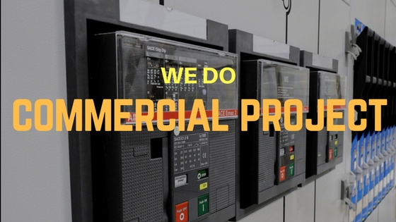 Our Commercial solution is affordable and reliable in electrical services