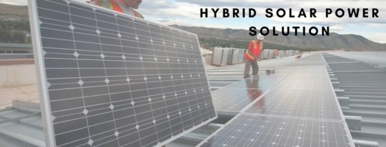 Hybrid Solar Power Plant solution in India