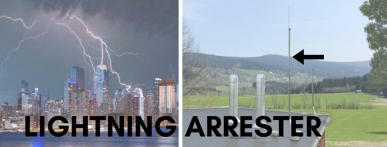 When it comes to safetynever ignore Lightning Arrester in an electrical parameter…